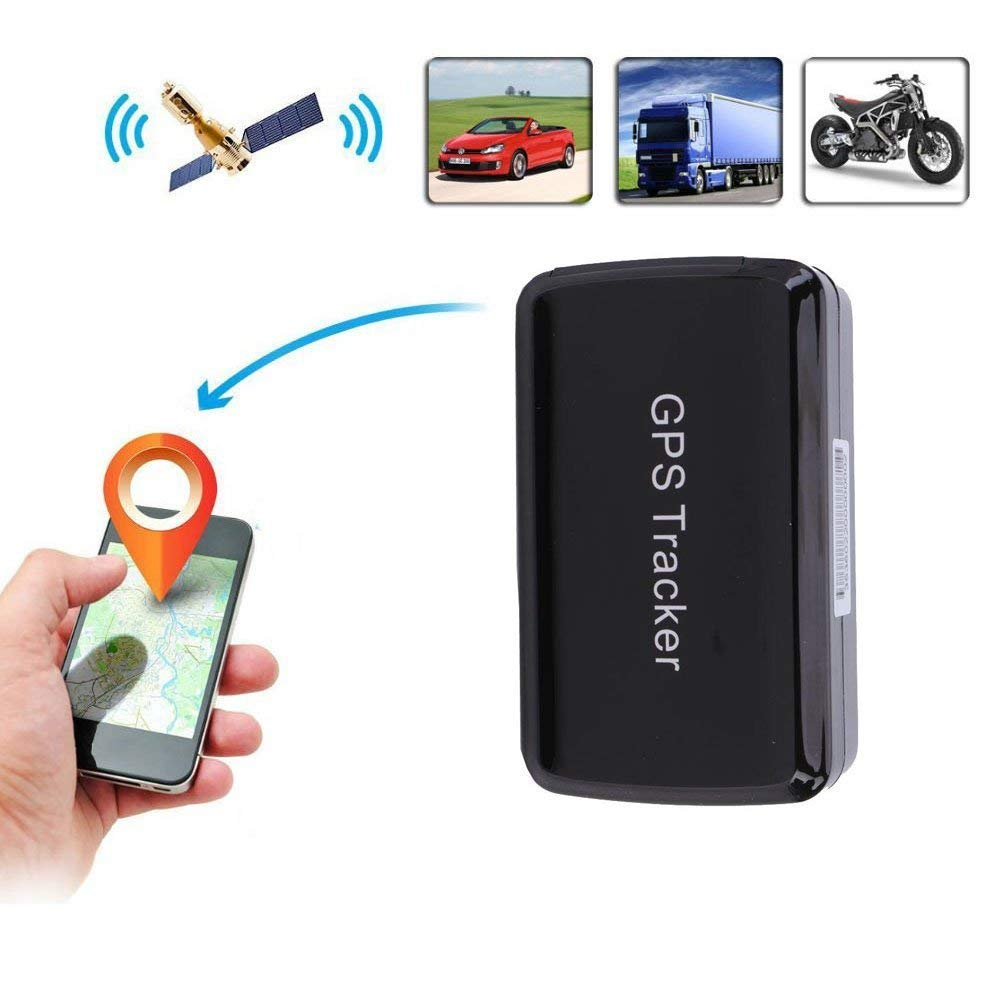 Mini GPS Smart Tracker Support Website & Phone App-long battery life and Rechargeable,Powerful Magnet and Waterproof-Real Time GPS/GSM/GPRS Car Tracking System for Cars/Kids/elderly/Pets,Plug & Play