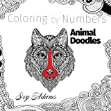 Coloring by Numbers: Animal Doodles