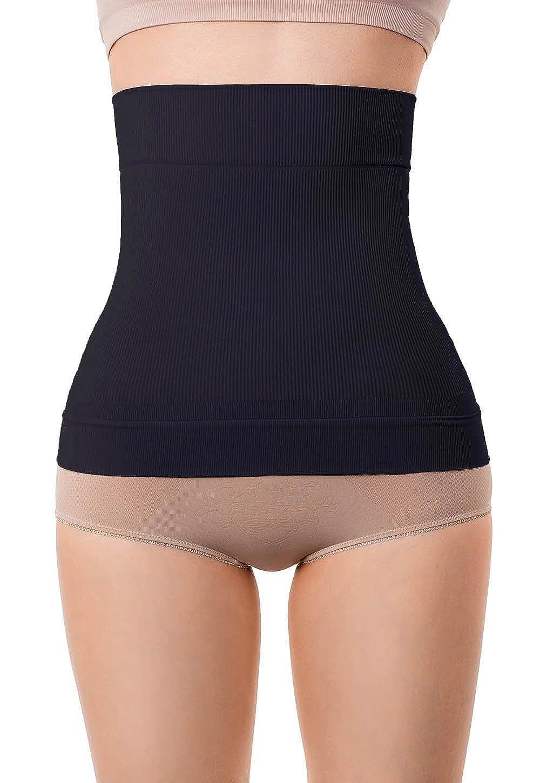 9031d5e2f57 MD Women's Shapewear Waist Trainer Seamless Waist Cincher Tummy Corset Tops  at Amazon Women's Clothing store: