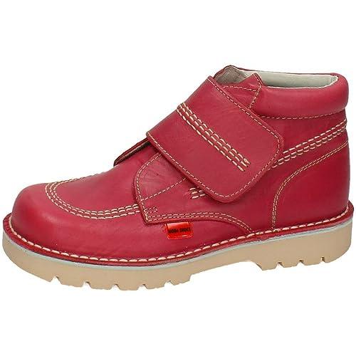 CORRECALLES 2695 BOTÍN DE Piel Velcro NIÑA Botas-Botines: Amazon.es: Zapatos y complementos