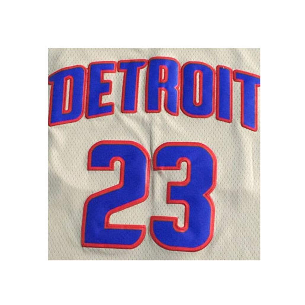 Auart Mens Basketball Jersey # 23 Uniforme Blake Griffin NBA Detroit Pistons Unisex della Giovent/ù Senza Maniche Outdoor Sports Ricamato