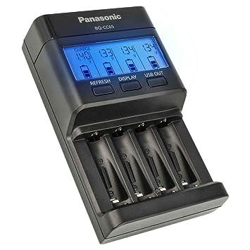 Panasonic eneloop BQ de cc65 - Cargador rápido Inteligente ...
