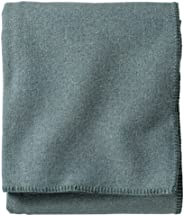 Pendleton, Eco-Wise Washable Wool Blanket, Shale Blue, Queen