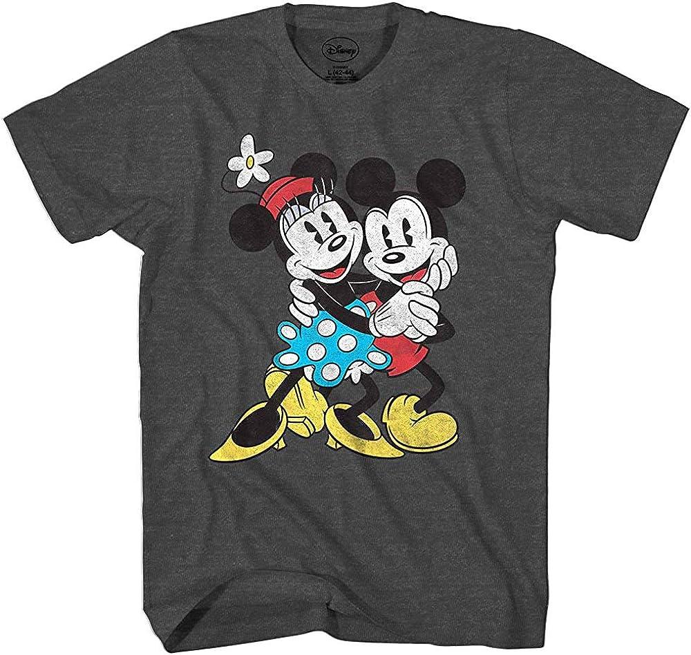 Amazon Com Disney Mickey Minnie Mouse Old School Love Vintage