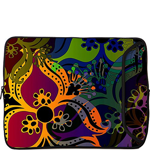 Designer Sleeves 13-Inch Bohemian Laptop Sleeve, Orange