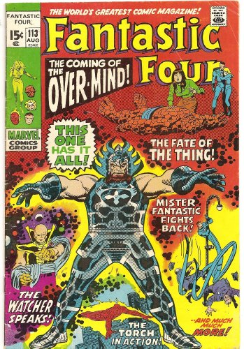 Fantastic Four #113 (The Power of--The Overmind!)