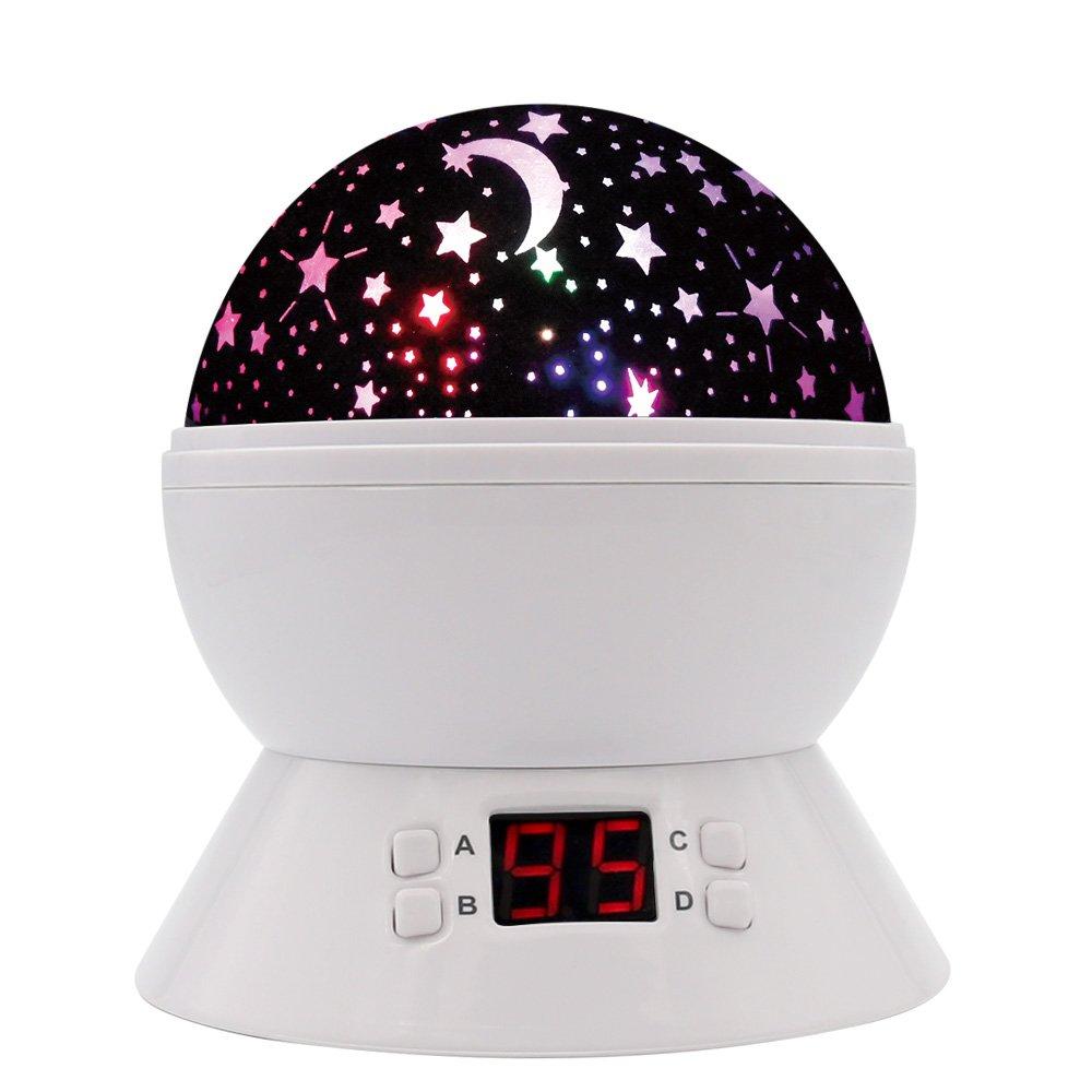 [UPGRADE] MOKOQI Rotating Star Sky Projection Night Lights