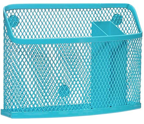 3C4G Magnetic Locker Bin, Turquoise by Three Cheers for Girls