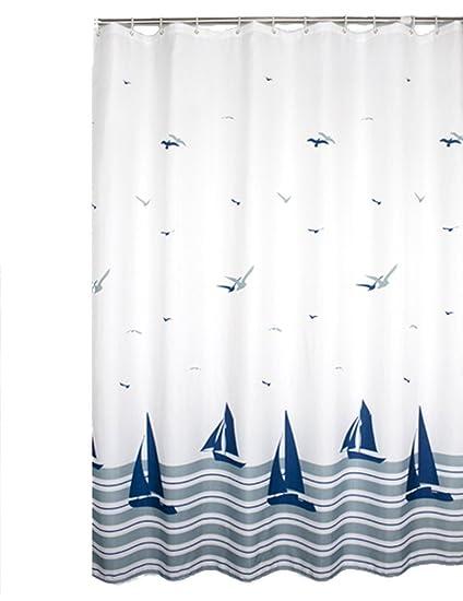 BenLok Seagull Boat Shower Curtain Multi Size