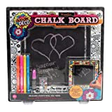 Doodle Deco Create and Color Wooden Chalkboard Kit