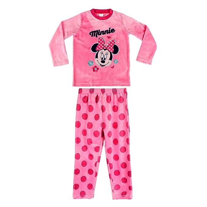 8be4fd35b 1788 Pijama de Terciopelo para niñas con Motivo de Minnie Mouse 3 a 6 años (