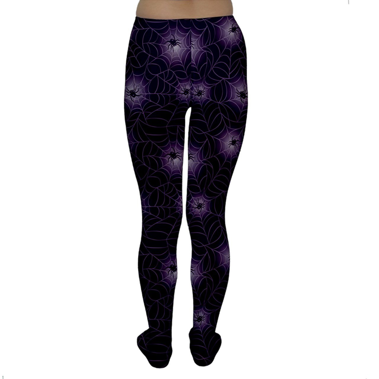 f77aab27e Purple Purple Spider Web Pattern Repeats Seamlessly Women s Tights at  Amazon Women s Clothing store
