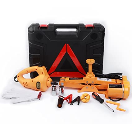 Amazon Com Electric Car Floor Jack Set 3 Ton All In One Automatic