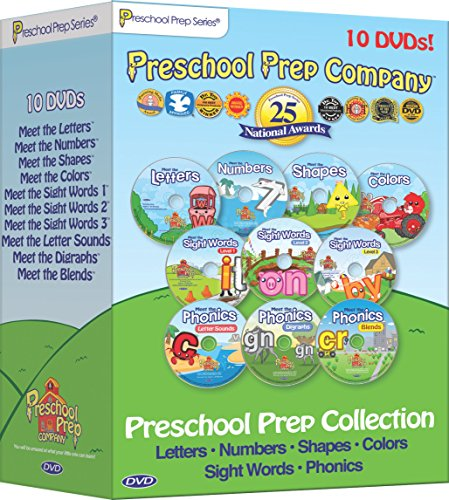 Preschool Prep Series Collection 10 DVD Boxed Set