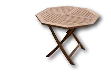 Patio Essentials Suffolk Salon de jardin en teck massif 1 table ...