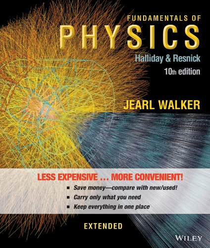 Fundamentals Of Physics Extended 10E Binder Ready Version   Wileyplus Registration Card