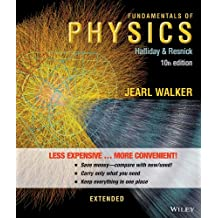 Fundamentals of Physics Extended 10e Binder Ready Version + WileyPLUS Registration Card