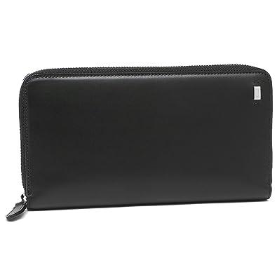 634b5af1019e バリー 財布 BALLY 6214725 BALLY ALPHA メンズ 長財布 無地 BLACK 黒 [並行輸入品