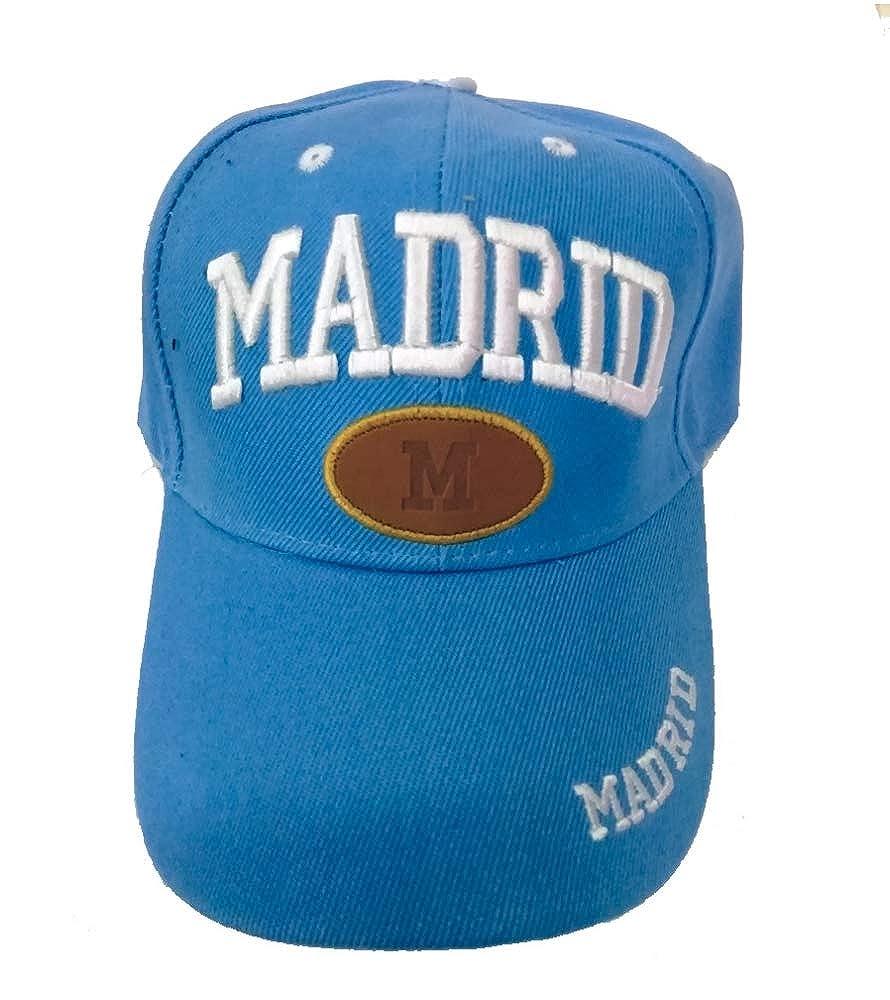 ZiNGS Gorra Madrid Unisex - Azul Claro: Amazon.es: Ropa y accesorios