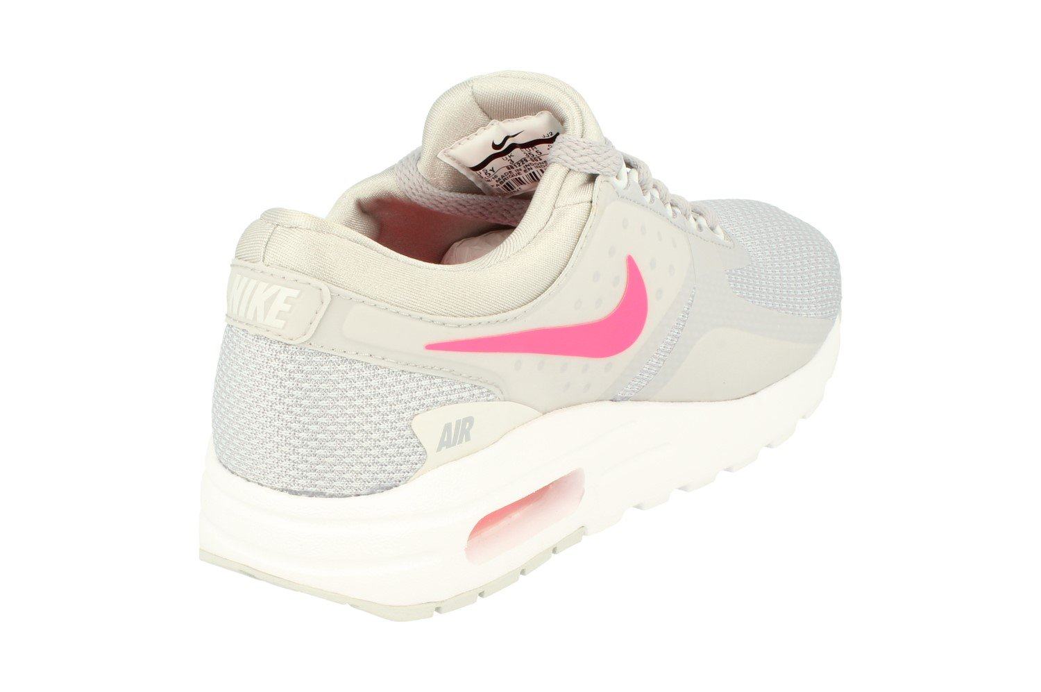 Nike Grade-School Air Max Zero Essential Wolf Grey/Racer Pink-White 881229-003 Shoe 3.5Y M US Youth by Nike (Image #3)