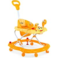 LuvLap Baby Walker Sunshine (Yellow/Orange)