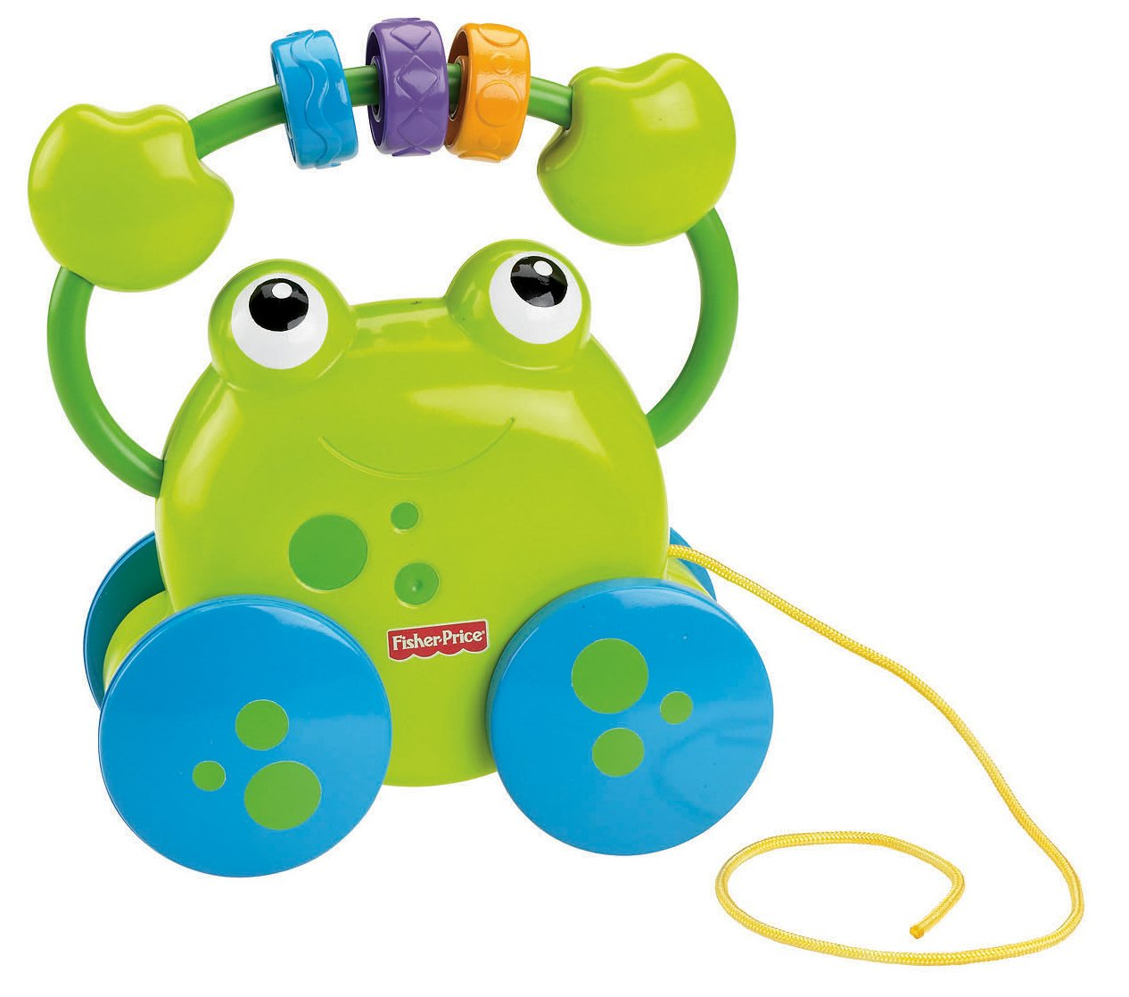 Fisher Price Growing Baby Pull Along Froggie