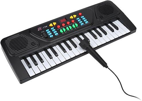 Dilwe Multifuncional Piano Electronico de 37 Teclas Juguete ...