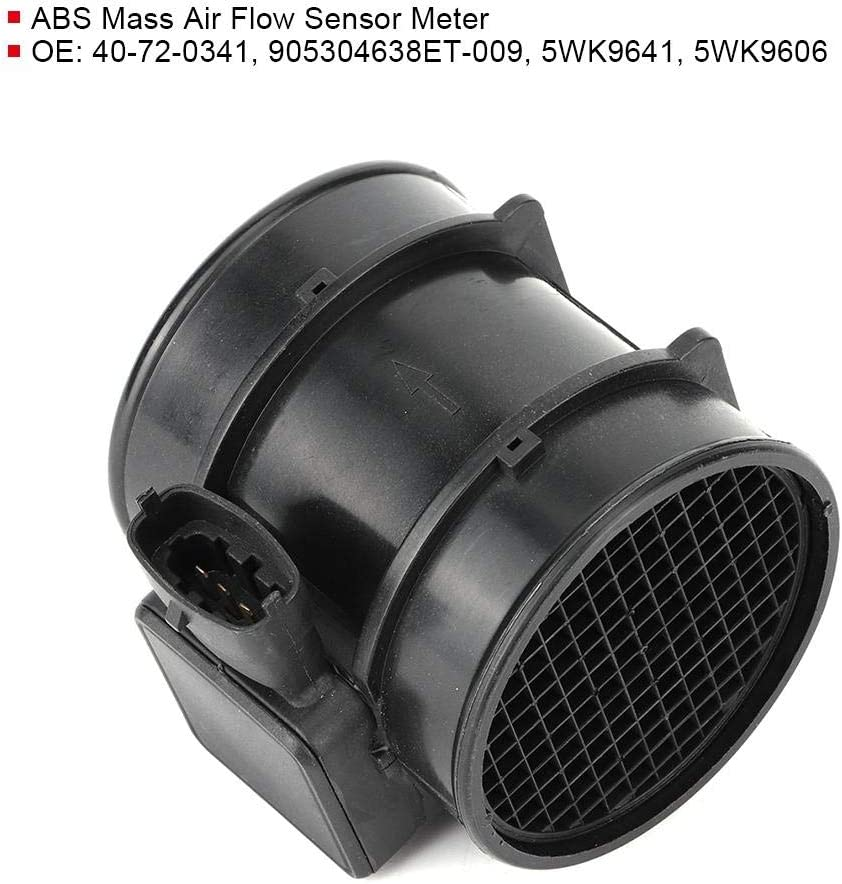 1.8 16V //2.0 16V 1998//2002-2000//2009. F48, F08/_ Fydun Air Flow Meter Mass ABS Mass Air Flow Sensor Meter Accessory 5WK9641 Fit for ASTRA G Hatchback
