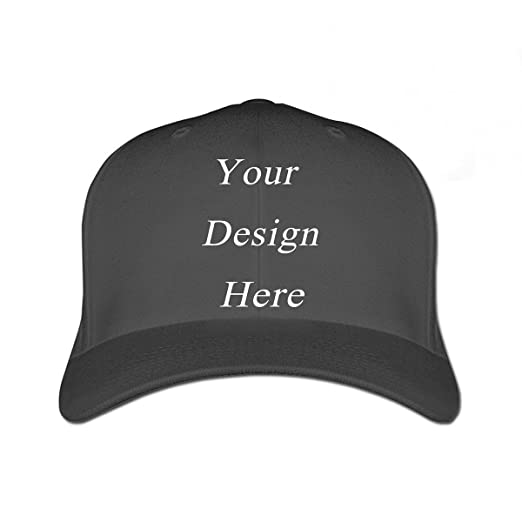 3498f31c416b4 New Personalized Custom Made Logo Unisex Baseball Hats Caps Summer Sun  Visor (Baseball Hats Black
