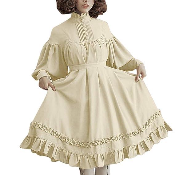 Vestido de Halloween para Mujer de Cosplay Lolita Victoriana ...