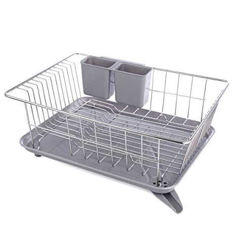 Metal Dish Drying Rack.Dish Rack Yamix Stainless Steel Dish Rack Dish Drainer Dish Drying Rack For Kitchen