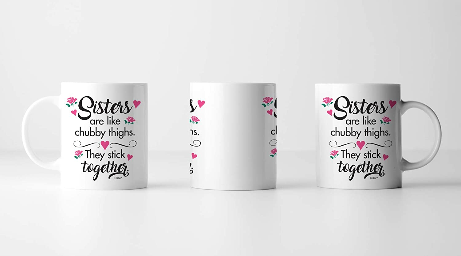 New Happy Funny Mugs Presents From Sister In Law Little Sister Birthday Gifts Mothers Day Gifts For Sister Funny Best Coffee Mug Cup Ideas Sister Gifts From Sister Big Sisters Gift From Brother