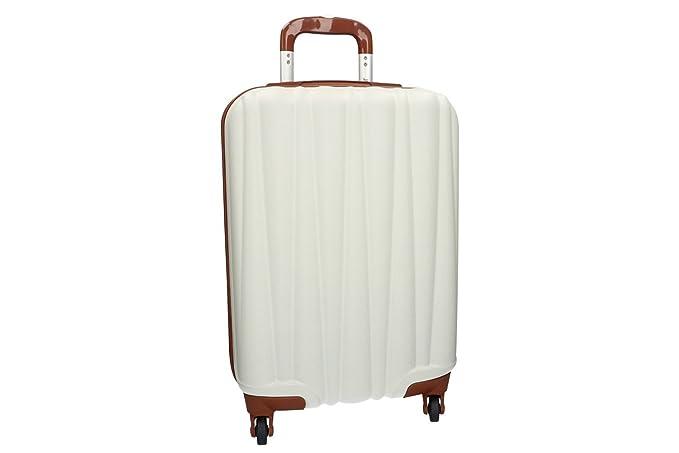Maleta rígida LANCETTI beige mini equipaje de mano ryanair 4 ruedas VS178
