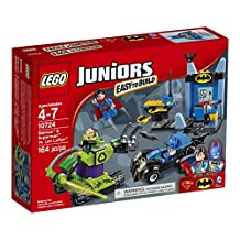 LEGO Juniors 10724 Batman and Superman Vs Lex Luthor Building Kit (164-Piece)