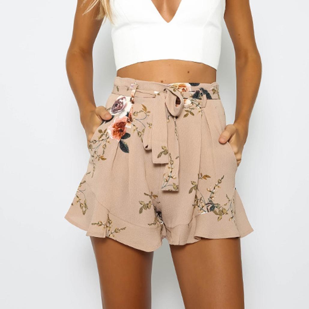 Familizo Shorts d impression Sexy Femmes 7211e9014c9