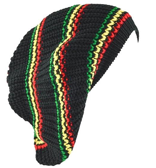 Mm Kufi Hat Crochet Cap Beanie Rasta Black Red Yellow Green At