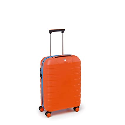 Maleta rigida 4 ruedas 55 cm | Roncato Box 2.0 | 5543-Naranja bicolor