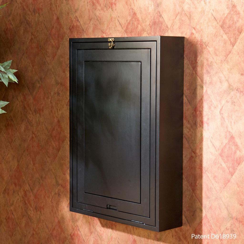 Sei Black Fold Out Convertible Desk Home