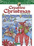 #8: Creative Haven Creative Christmas Coloring Book (Adult Coloring)