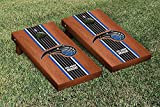 Orlando Magic NBA Basketball Cornhole Game Set Rosewood Stained Stripe Version