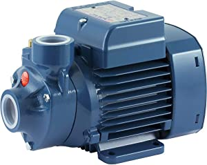 Water Pump Pedrollo Booster - 634 GPH, 1/2 HP, 115 Volts, Model# PKm60