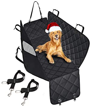 Waterproof /& Scratch Proof /& Nonslip Back Seat Cover Dog Travel Hammock with Seat Anchors /& Extra Two Seat Belts morpilot Dog Car Seat Cover Universal Fit 58 X 54Inch