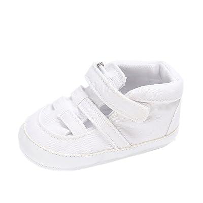 7c14d4b09bf72 Chaussures de bébé Auxma Chaussures pour bébé en sandales en toile  Chaussures solaires antidérapantes Pour 3-18 mois (12-18 M