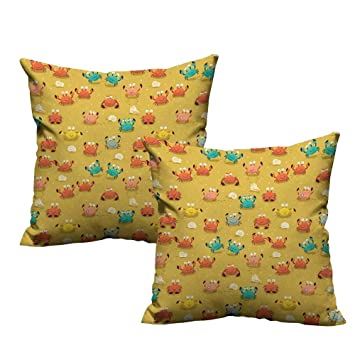 Amazon.com: ZhiHdecor - Funda de almohada suave con ...