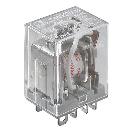 amazon com radioshack 250v dc 10a dpdt relay switch home audio