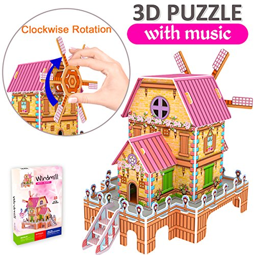 GBD 3D Jigsaw Puzzles for Kids Gifts Magic