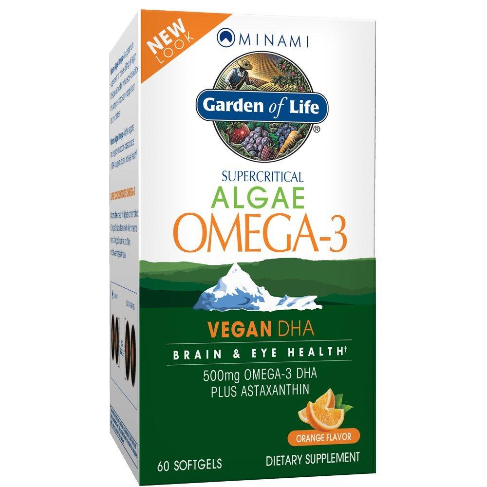 Garden of Life Minami Algae Omega-3 60 Softgels by Garden of Life