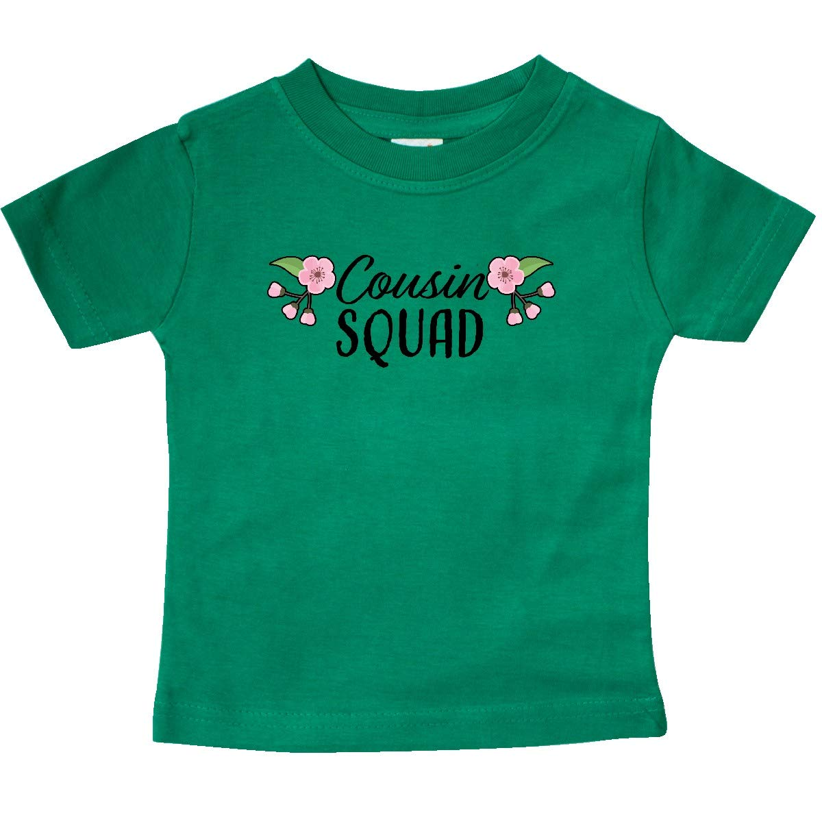 inktastic Cousin Squad with Cherry Blossom Flowers Toddler T-Shirt