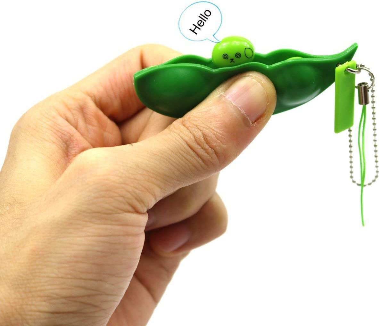 Blesser Fidget Toy Pack Antiestres Fidget Toy Incluye 4* Fidget Toy Globbles Color Aleatorio 1*Pop it Fidget 6* ficelles Fidget 1* Cube Color Aleatorio 2*Squishy Bean 4 Squishy Gato