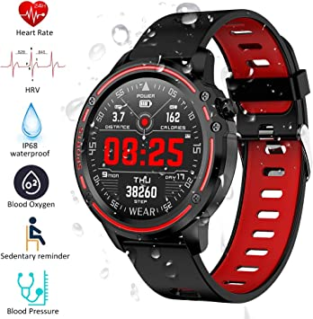 Padgene Smartwatch Reloj Inteligente IP68 Impermeable Bluetooth ...